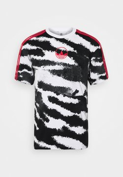 adidas Originals - ZEBRA - T-Shirt print - white