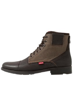 Levi's® - FOWLER - Bottines à lacets - dark brown