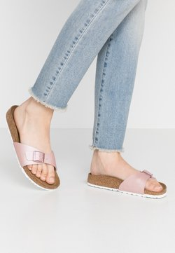 Birkenstock - MADRID - Hausschuh - icy metallic/old rose