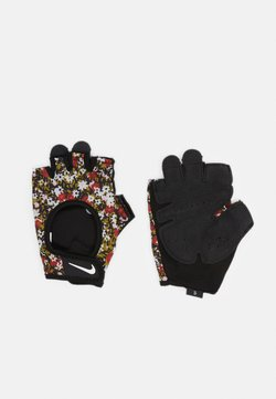 Nike Performance - WOMENS GYM ULTIMATE FITNESS GLOVES - Kynsikkäät - firewood orange/black/white