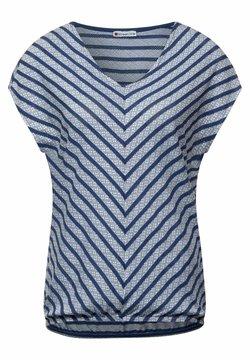 Street One - T-Shirt print - blau