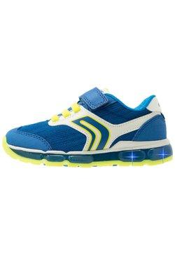 Geox - BOY - Sneaker low - royal/lime