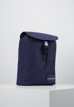 Calvin Klein Jeans - LOGO TAPE FLAP BACKPACK - Reppu - blue