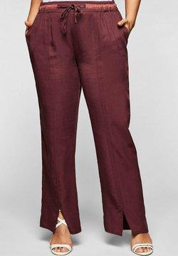 Sheego - Pantalon classique - barolo