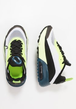Nike Sportswear - AIR MAX 2090 UNISEX - Sneaker low - white/black/volt/blue force
