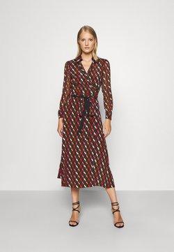 Diane von Furstenberg - BROOKE DRESS - Vestito elegante - wood brown
