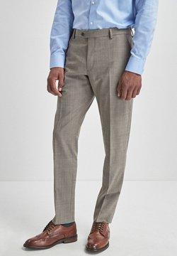 Next - BLEND STRETCH - Anzughose - beige