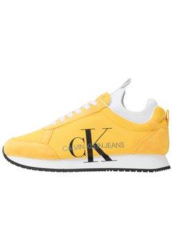 Calvin Klein Jeans - JEMMY - Sneaker low - lemon chrome