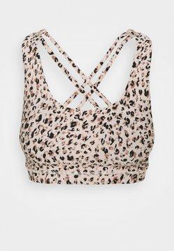 Cotton On Body - STRAPPY SPORTS CROP - Urheiluliivit: kevyt tuki - multicoloured