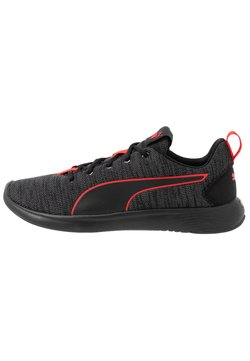 Puma - SOFTRIDE VITAL CLEAN - Zapatillas de running neutras - asphalt/black/high risk red