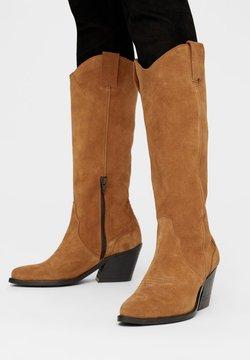 Bianco - High Heel Stiefel - cognac