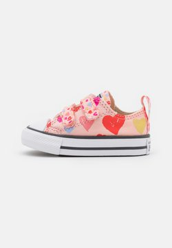 Converse - CHUCK TAYLOR ALL STAR HEARTS  - Baskets basses - storm pink/natural ivory/white