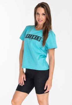 Zoe Leggings - JUNGLE SPIRIT - T-shirt z nadrukiem - mint