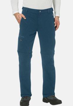 Vaude - FARLEY T ZIP PANTS - Outdoor-Hose - blau (296)