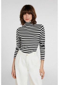 Oui - ARMEN - Langarmshirt - white black