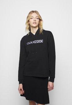 HUGO - NEMOLIA - Sweatshirt - black base