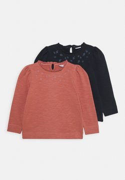 Name it - NMFTHURA CAMP 2 PACK - Sweater - dark sapphire/withered rose