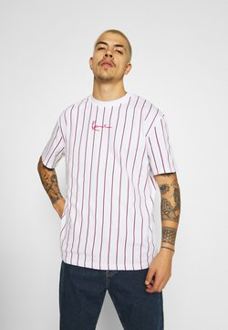 Karl Kani - SMALL SIGNATURE UNISEX  - T-Shirt print - white