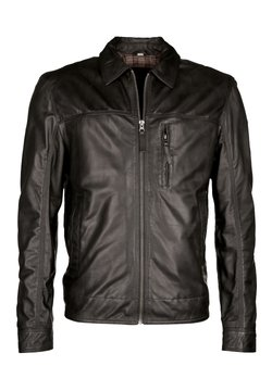 JCC - ALURAVE - Leren jas - black