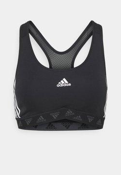 adidas Performance - BRA - Sport-BH mit mittlerer Stützkraft - black/white