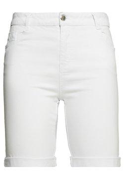 Evans - Jeansshort - white