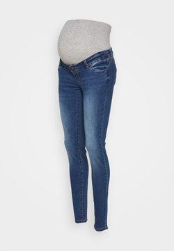 MAMALICIOUS - MLFLORIDA SLIM JEANS  - Slim fit jeans - medium blue