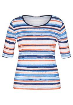 Rabe 1920 - MIT GESTREIFTEM MUSTER UND RUNDHALSAUSSCHNITT - T-Shirt print - dunkelblau