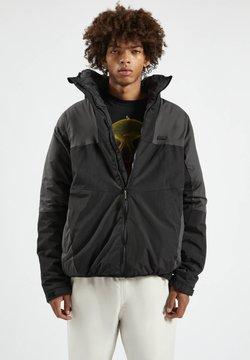 PULL&BEAR - Winterjacke - mottled black