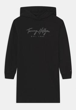 Tommy Hilfiger - LOGO  - Freizeitkleid - black