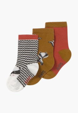 Ewers - BADGERS 3 PACK - Sokken - grau/toffee