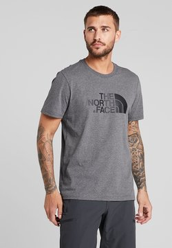The North Face - M S/S EASY TEE - EU - T-Shirt print - grey heather