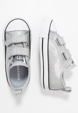 Converse - CHUCK TAYLOR ALL STAR  COATED GLITTER - Zapatillas - wolf grey/black/white