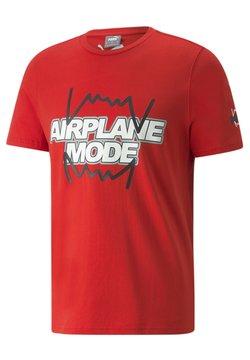 Puma - DERRICK JONES - T-Shirt print - high risk red