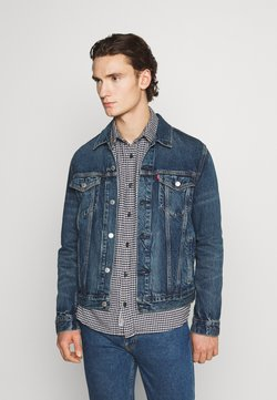 Levi's® - WELLTHREAD TRUCKER - Veste en jean - azurite indigo