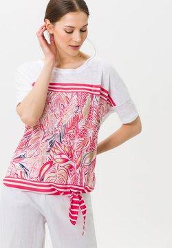 BRAX - CARLOTTA - T-Shirt print - pink