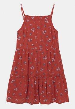 Abercrombie & Fitch - BABYDOLL - Freizeitkleid - red