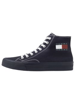 Tommy Jeans - MIDCUT LACE UP - Sneakers hoog - blue