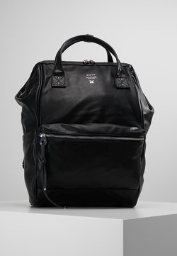 anello - TOTE BACKPACK VEGAN LARGE - Reppu - black