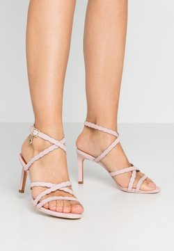 Ted Baker - LILLYS - Sandały na obcasie - nude/pink