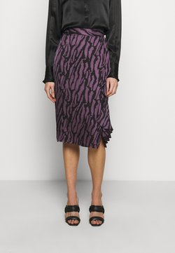 Bruuns Bazaar - TREE VIOLIS SKIRT - A-Linien-Rock - artwork purple