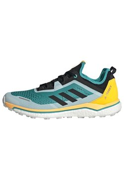 adidas Performance - TERREX AGRAVIC FLOW SHOES - Zapatillas de trail running - turquoise