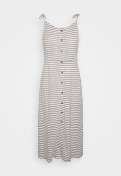 Superdry - CHARLOTTE BUTTON DOWN DRESS - Jerseykleid - grey