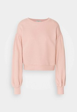 Little Mistress Petite - GATHERED SHOULDER BALLOON SLEEVE - Sweater - dusty rose