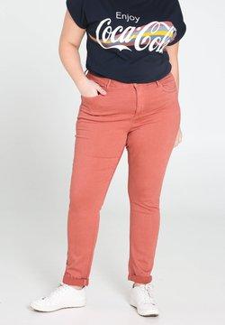 Paprika - Slim fit jeans - old pink