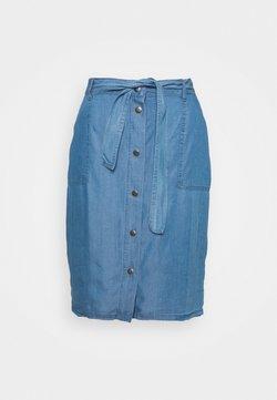 Soyaconcept - Spódnica trapezowa - medium blue