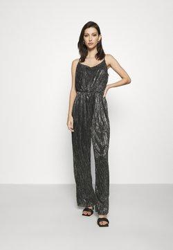 Vero Moda - VMJENIFER SINGLET JUMPSUIT  - Jumpsuit - black/silver