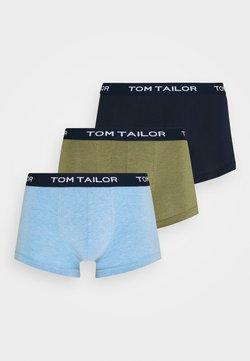 TOM TAILOR - PANTS 3 PACK - Shorty - green/dark blue/light blue