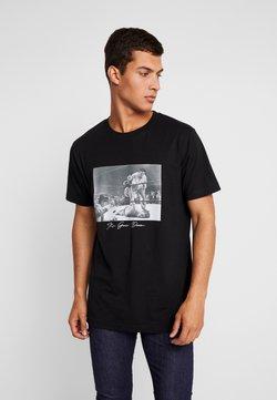 Mister Tee - GOING DOWN TEE - T-shirts print - black