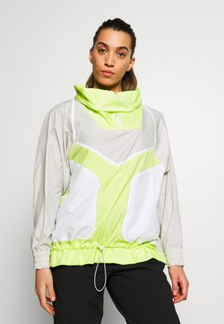adidas by Stella McCartney - Veste coupe-vent - tan/neon green