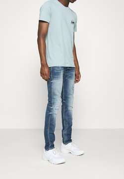 Replay - ANBASS AGED - Slim fit jeans - medium blue